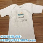 Kostenloses Pampers T-Shirt