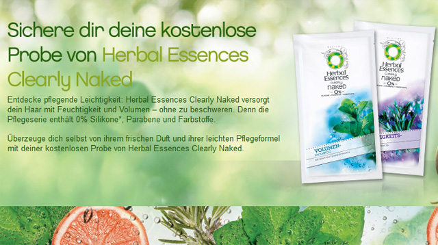 Herbal Essences Shampoo kostenlose Produktprobe
