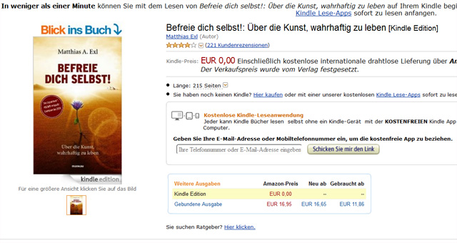 Befreie dich selbst! - kostenloses Ebook als Kindle-Edition