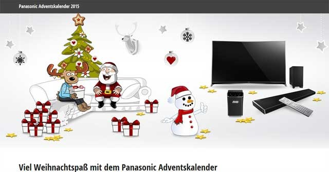 Panasonic Adventskalender