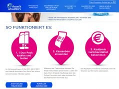 Head & Shoulders kostenlos testen