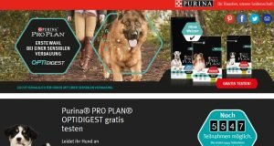 Purina PRO PLAN OPTIDIGEST Hundefutter gratis