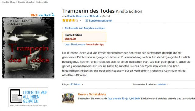ebook kostenlos Krimi Thriller Horror