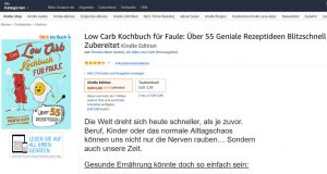 Low Carb Kochbuch gratis