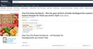 One Pot Pasta Kochbuch gratis